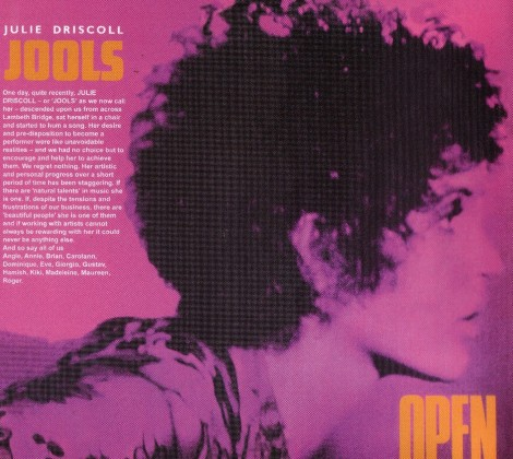 Brian Auger, Julie Driscoll and the trinity – Open