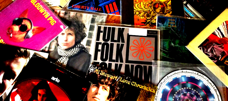 The Folk & Folk Rock Vinyl Record Collection