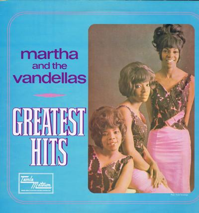 Martha And The Vandellas Greatest Hits Viva Vinyl Viva