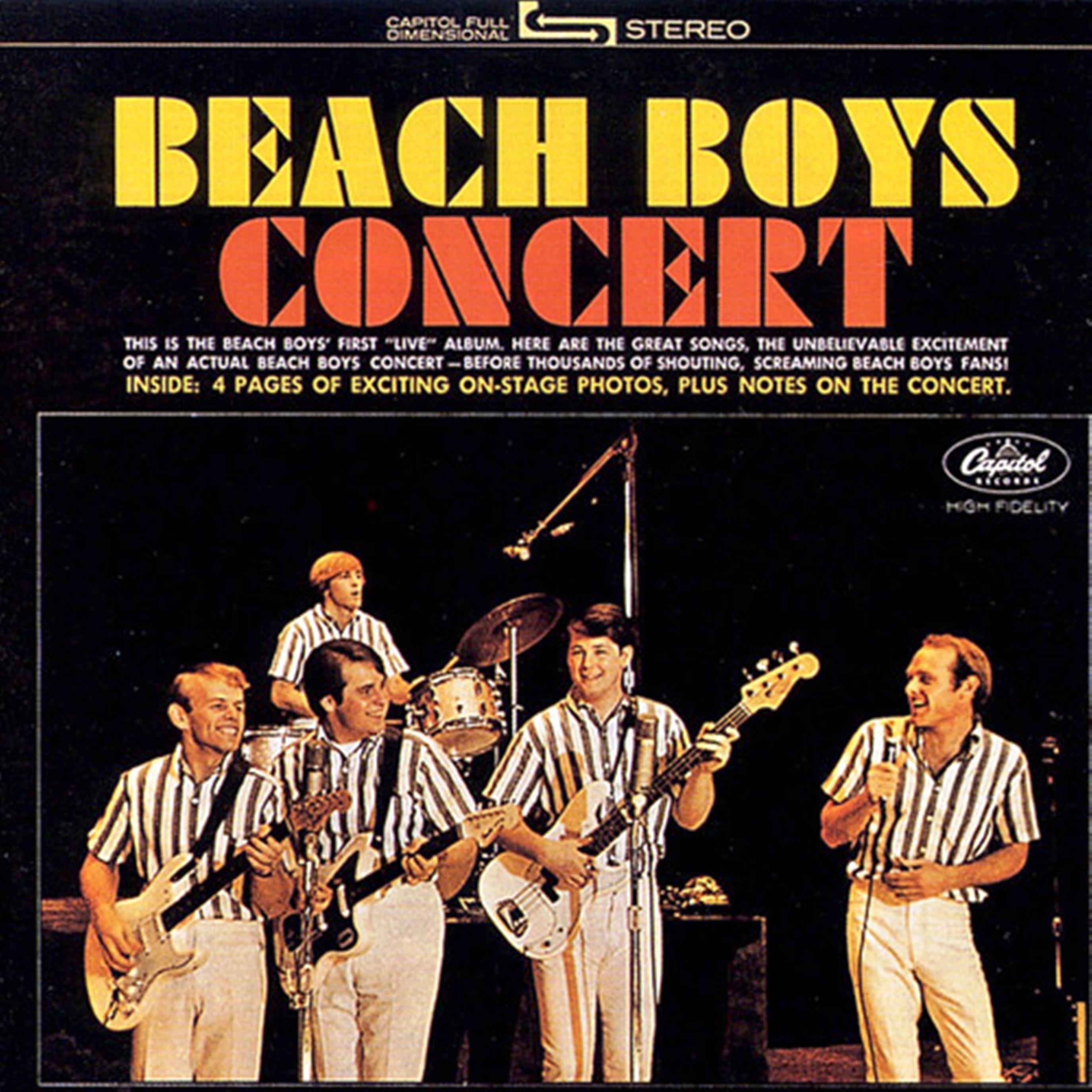The Beach boys Beach boys concert